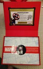 Disney Marvel D23 2017 Exclusive 3D Captain America Shield Pin LE 50