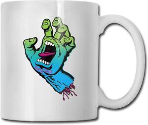 Screaming Hand Ceramic Mug