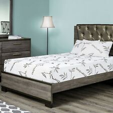 Customize Bed 10 Inch Gel Memory Foam Mattress Bamboo, queen -- CertiPUR-US®...