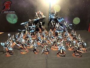 Eldar Army Warhammer 40k Wraith Host Wraithguard Wraithlord Wraithknight Painted