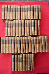 BUFFON Oeuvres complètes 54/54 1770-1789 RARE EXEMPLAIRE VEAU BLOND