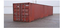 40 ft Lagercontainer / Seecontainer / Container B-Klasse, Lieferung / 40 Fuß