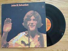 JOHN B. SEBASTIAN signed 1970 Debut Record / Album COA WOODSTOCK