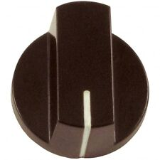 Large Bar Knob with Indicator, Brown for Pedals Guitars Amps & DIY Projects
