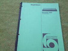 Original Bang Olufsen Beocenter 2200 . Service  Manual