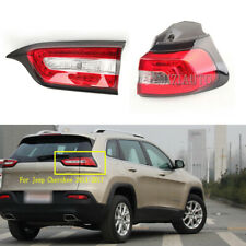 Pair For Jeep Cherokee 2014 15-2017 Right Side Inner Outer Tail Light Rear Lamp