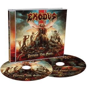Exodus - Persona Non Grata - LTD EDITION CD/BLU RAY - ID23p - Pre-order NOW!