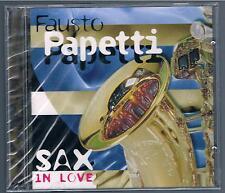 FAUSTO PAPETTI SAX IN LOVE - 2 CD F.C. SIGILLATO!!