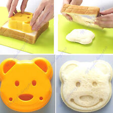 Bear Toast Bread Food Sandwich Dessert Mold Cutter Maker Bento Accessories