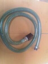 Lot de 4 tuyaux d'aspiration 2m + crépine et raccord, pour eau,combustible, NEUF