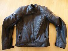 Hochwertige Leder-Motorradjacke von Vanucci TFL für Herren, Größe 94-98