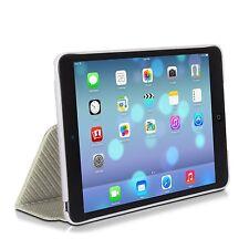 XtremeMac Microfolio iPad mini,Silver Carbon Fiber Case + Free  Screen Protector