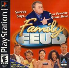 Family Feud - PS1 PS2 Complete Playstation Game