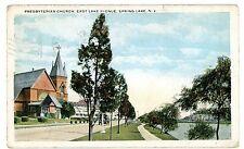 Spring Lake Nj - Presbyterian Church On East Lake Avenue - Postcard