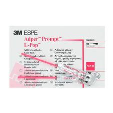 ADPER PROMPT L-POP 3M ESPE 100 unidades. Dental adhesive self curing.