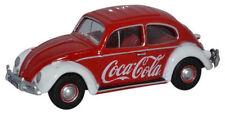 BNIB OO GAUGE OXFORD 1:76 76VWB009CC VW BEETLE COCA-COLA