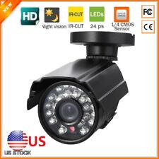 Wied HD Metal 1200TVL CCTV Bullet Camera Security System Waterproof Night Vision