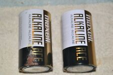 """MAXELL LR20 ALKALINE ACE """"D""""-cell DEAD for DISPLAY PAIR"""