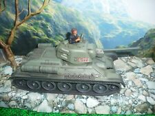 "Britain Russian Soviet T-34 Tank 8"" Die Cast Model 17497"