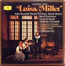 3 LP BOX DGG Verdi LUISA MILLER Maazel DOMINGO RICCIARELLI BRUNSON 2709 096 NM-