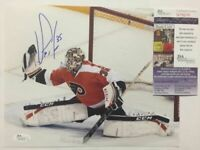 Autographed/Signed STEVE MASON Philadelphia Flyers 8x10 Hockey Photo JSA COA