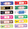 Satya Nag Champa Incense–12 Pack Variety of Most Popular Scents 15 Grams Each