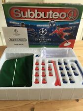 More details for subbuteo uefa champions league edition table football game *complete*