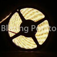 LumenWave 5M RGB 3828 SMD IP65 Waterproof Flexible LED Strip Lights Black PCB