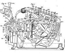 Antike Addiermaschine / Rechenmaschine: BURROUGHS ADDING CO - Infos ab 1906