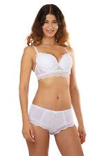 EDESSA ensemble de lingerie bustier push-up et boxer Skys lingerie 90B/M