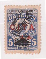 (UGA-194) 1946 Uruguay 5c blue Parcel post red O/P (D)