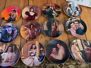 Gone With the Wind Collectible Plates