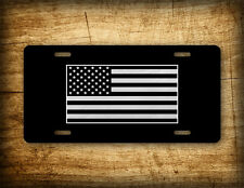 Tactical American Flag License Plate Patriotic USA Auto Tag AR15 US Army Badge