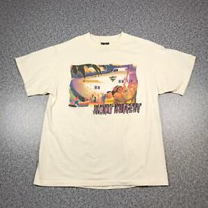 Vintage 1991 JIMMY BUFFET OUTPOSTS TOUR Mens T Shirt XL | Single Stitch Giant
