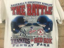 Vintage ALCS Yankees Red Sox Tee 1999 American League Championship MLB Baseball