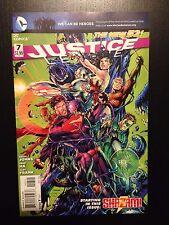Justice League 7 New 52 VF/NM Geoff Johns Jim Lee DC Comics