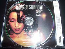 Sade King Of Sorrow Rare Australian Promo Picture Disc CD Single SAMP2319