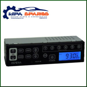 HITACHI FM/AM EXCAVATOR RADIO (WITH AUX INPUT FOR MP3, iPHONE ETC)