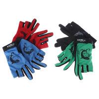 Fishing Gloves Anti-Slip Gloves Fish Equipment Outdoor sports Waterproof Glov wr