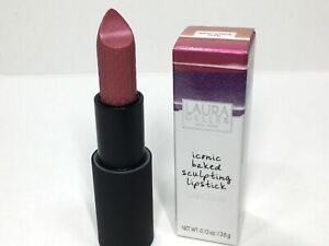 Laura Geller Iconic Baked Sculpting Lipstick -Aster Place Tulip Metallic New