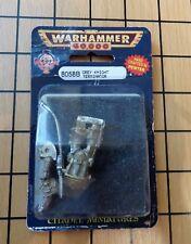40k Rare oop Blister Metal Space Marine Grey Knight Terminator w Halberd NIB