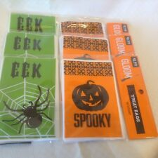 Halloween Treat Snack Bags Party 3 Packages of 80 Count Plastic Bags Each NEW