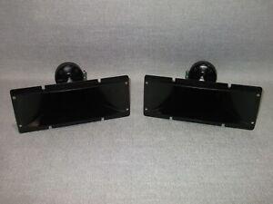 Fane J 105 x2 Vintage Tweeters  horn compression driver Made in Japan 8 ohm