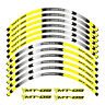 FIT FOR YAMAHA MT-09 TRACER MOTORCYCLE RIM STRIPES WHEEL DECALS TAPE STICKERS