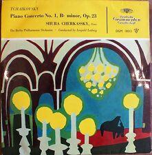 SHURA CHERKASSKY. TCHAIKOVSKY PIANO CONCERTO No1 BERLIN PHILHARMONIC ORCHESTRA