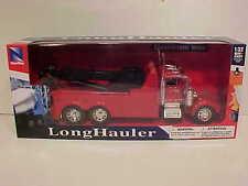 Tow Truck Wrecker Semi Truck Kenworth W900 Die-cast 1:32 Newray 12 inch Red