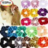 10/20Pcs Women Hair Scrunchies Velvet Elastic Hair Bands Scrunchy Rope Ties Gift