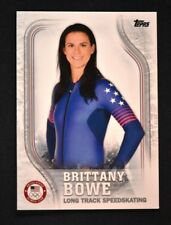 2018 Topps US Winter Olympics Base #USA-34 Brittany Bowe