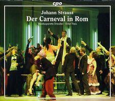Ernst Theis, J. Strauss - Der Carneval in Rom [New CD]