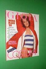 GIOIA 17/1988 MARC CHAGALL GLORIA GUIDA KLAUS KINSKI JACKIE COLLINS BRIGLIADORI